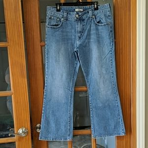 Levi's flared jeans